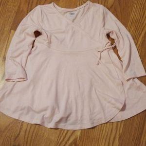 Girl's Ballerina Wrap Dress